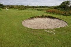 Unser einziger Bunker am Green 8